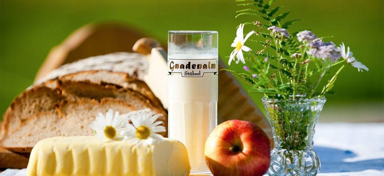 Almfrühstück auf der Gnadenalm