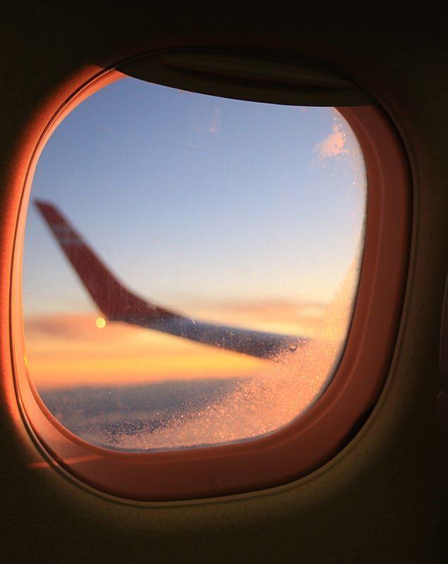 Anreise per Flugzeug