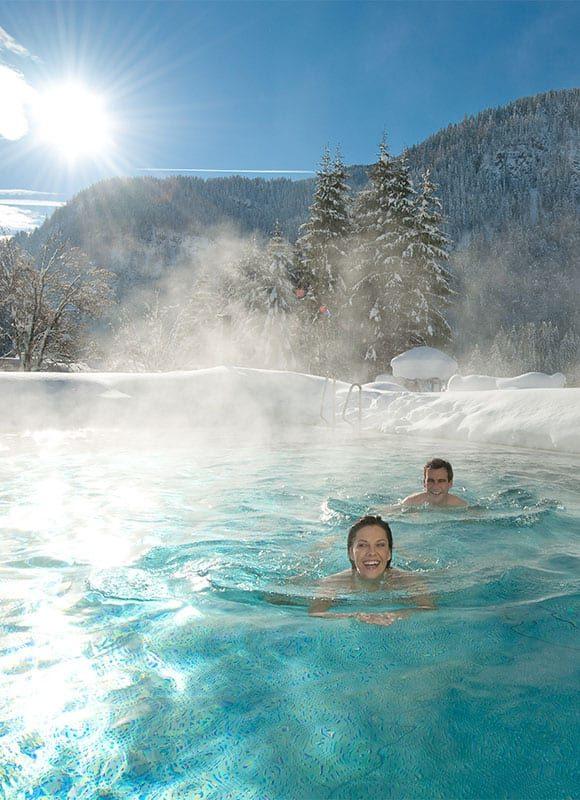 Außenpool - Wellness-Wochenende & -Urlaub