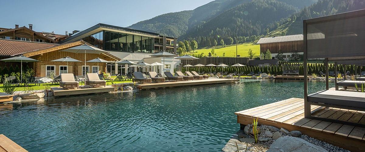 Badeteich Bergsee