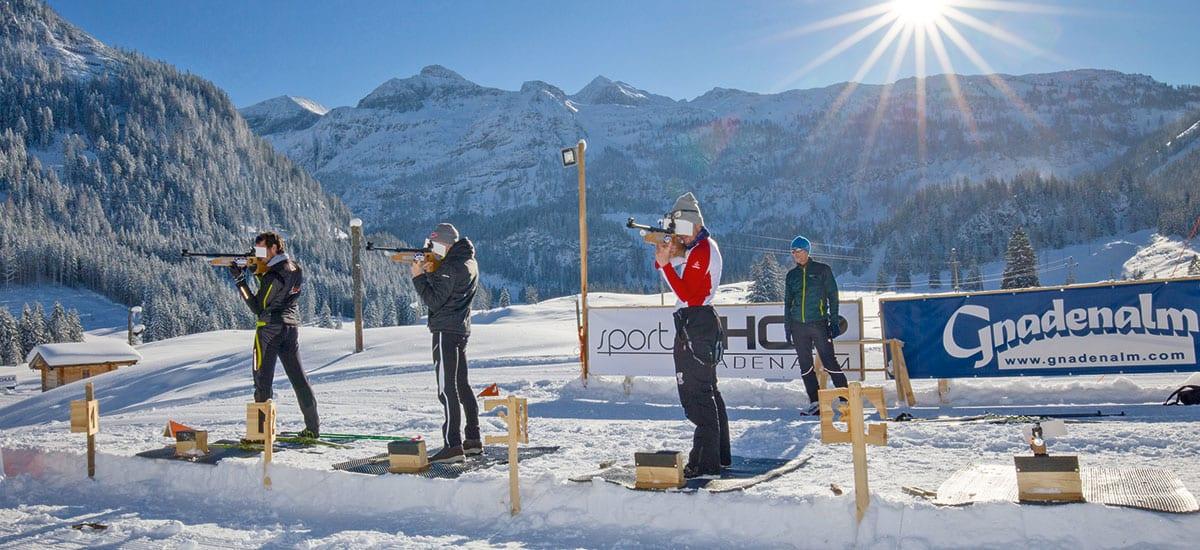 Biathlon - Aktiv-Winterurlaub