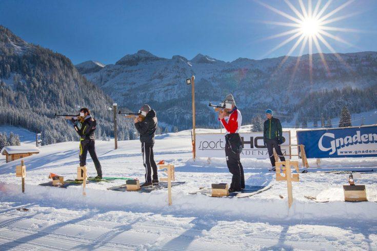 Biathlon - Abwechslung im Langlaufurlaub