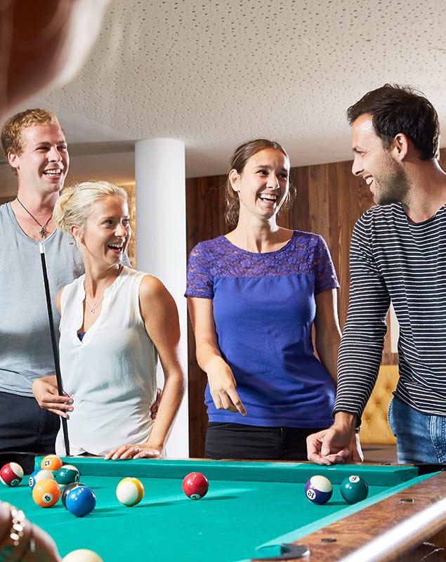 Billiard - Hotel mit Bowlingbahn, Lürzerhof Alpine Life Resort