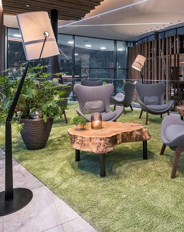 Erlebnis-Atrium, Lounge