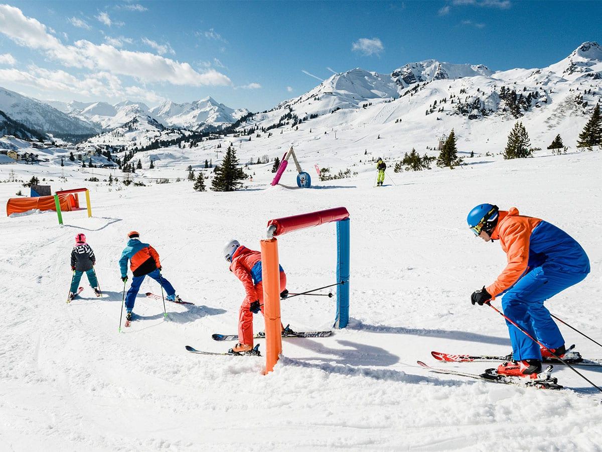 Familien-Skiurlaub in Obertauern