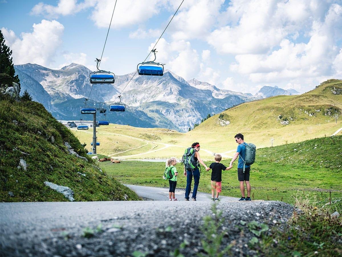 Familien-Wanderurlaub in Obertauern