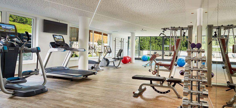Hoteleigener Fitnessraum