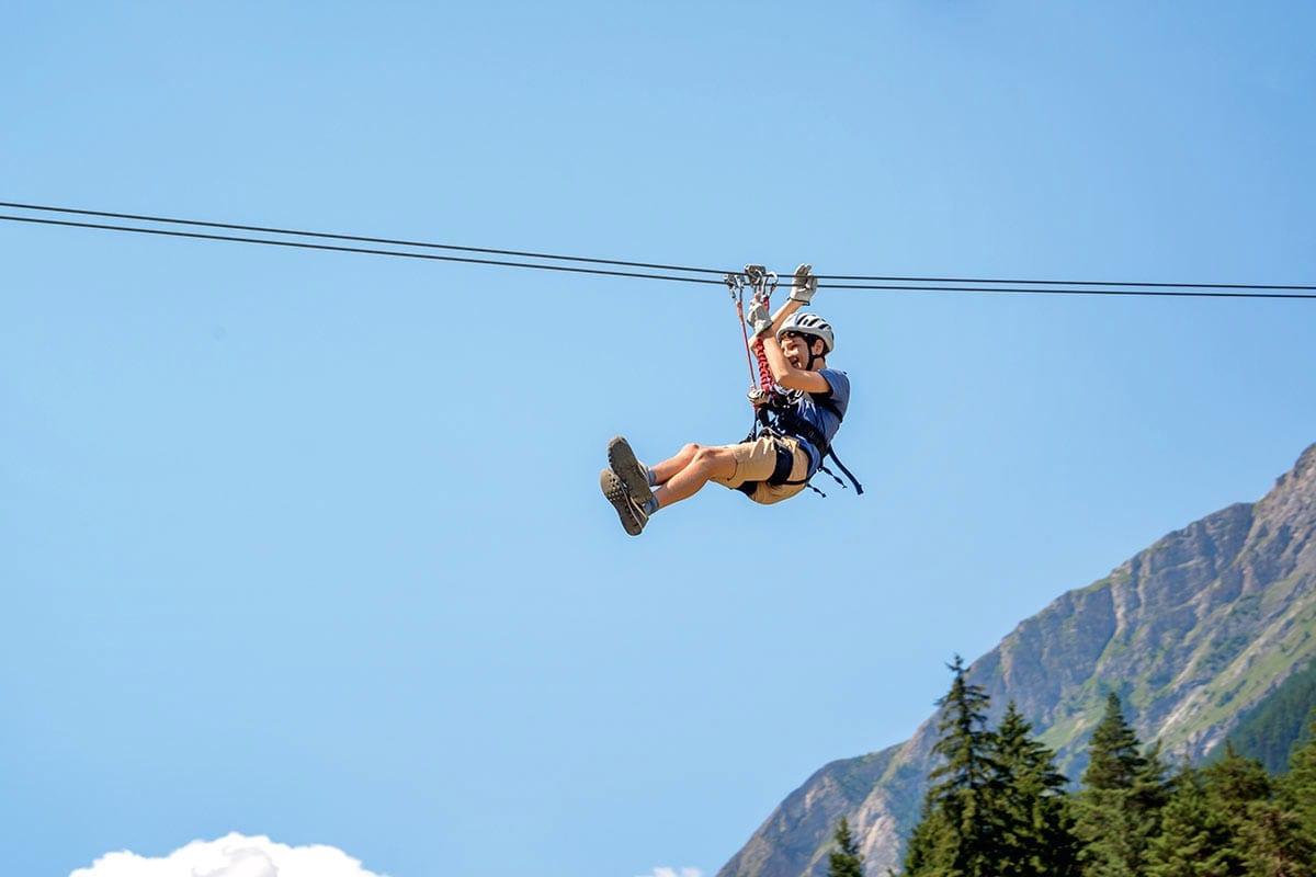Flying Fox - Freizeitmöglichkeit in Obertauern