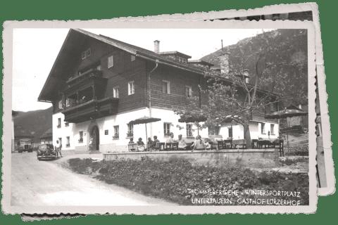 Hotel Lürzerhof damals