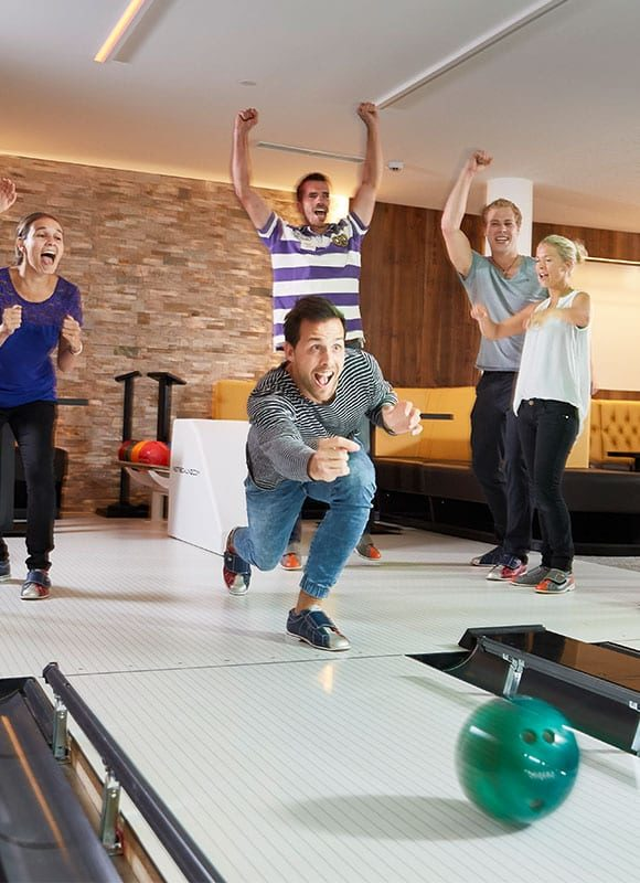 Hoteleigene Bowlingbahn