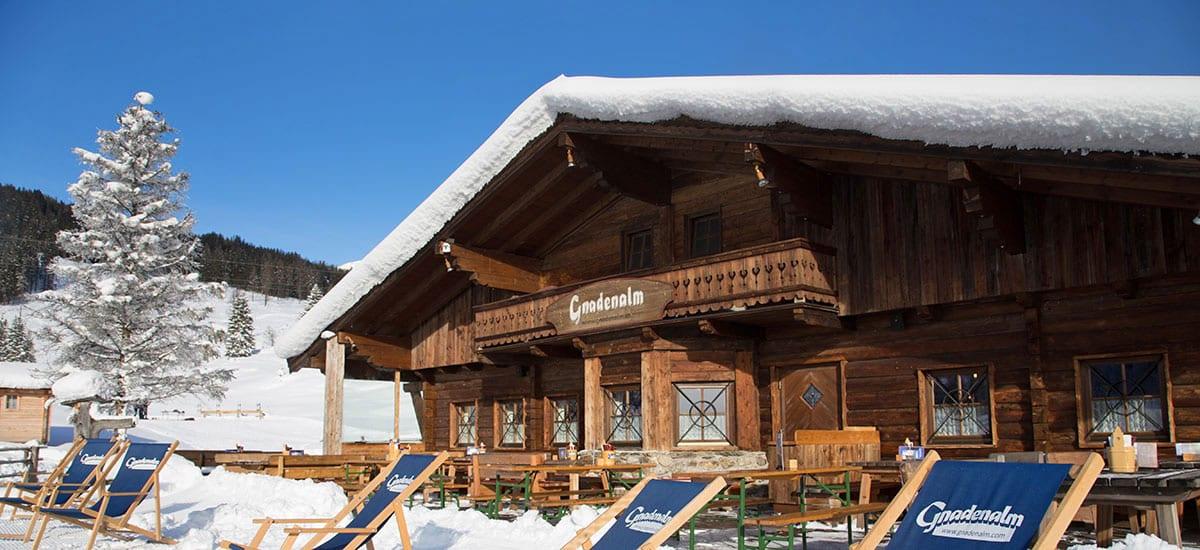 Hoteleigene Gnadenalm in Obertauern