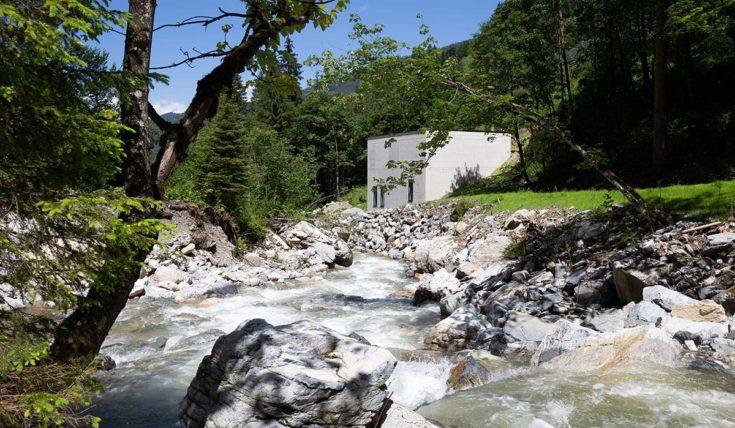 Hoteleigenes Wasserkraftwerk