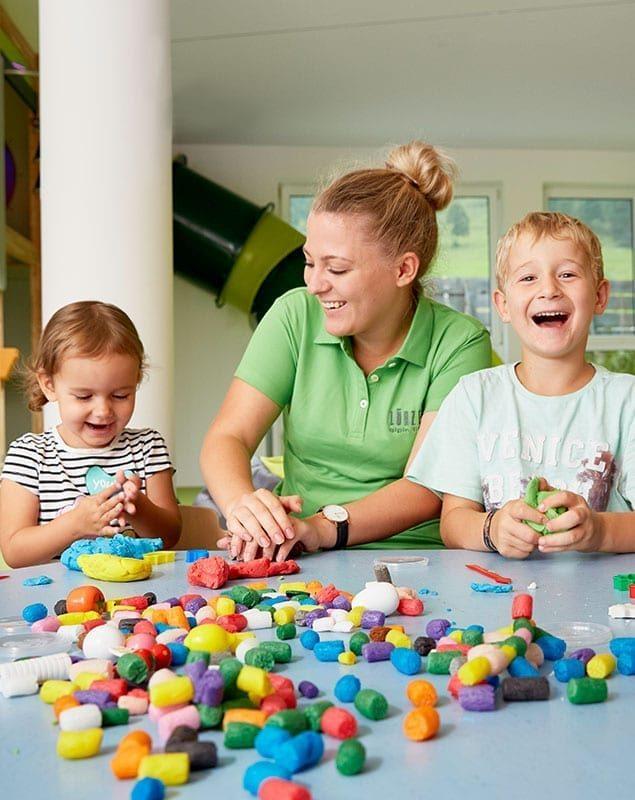 Kinderbetreuung im Wellnesshotel