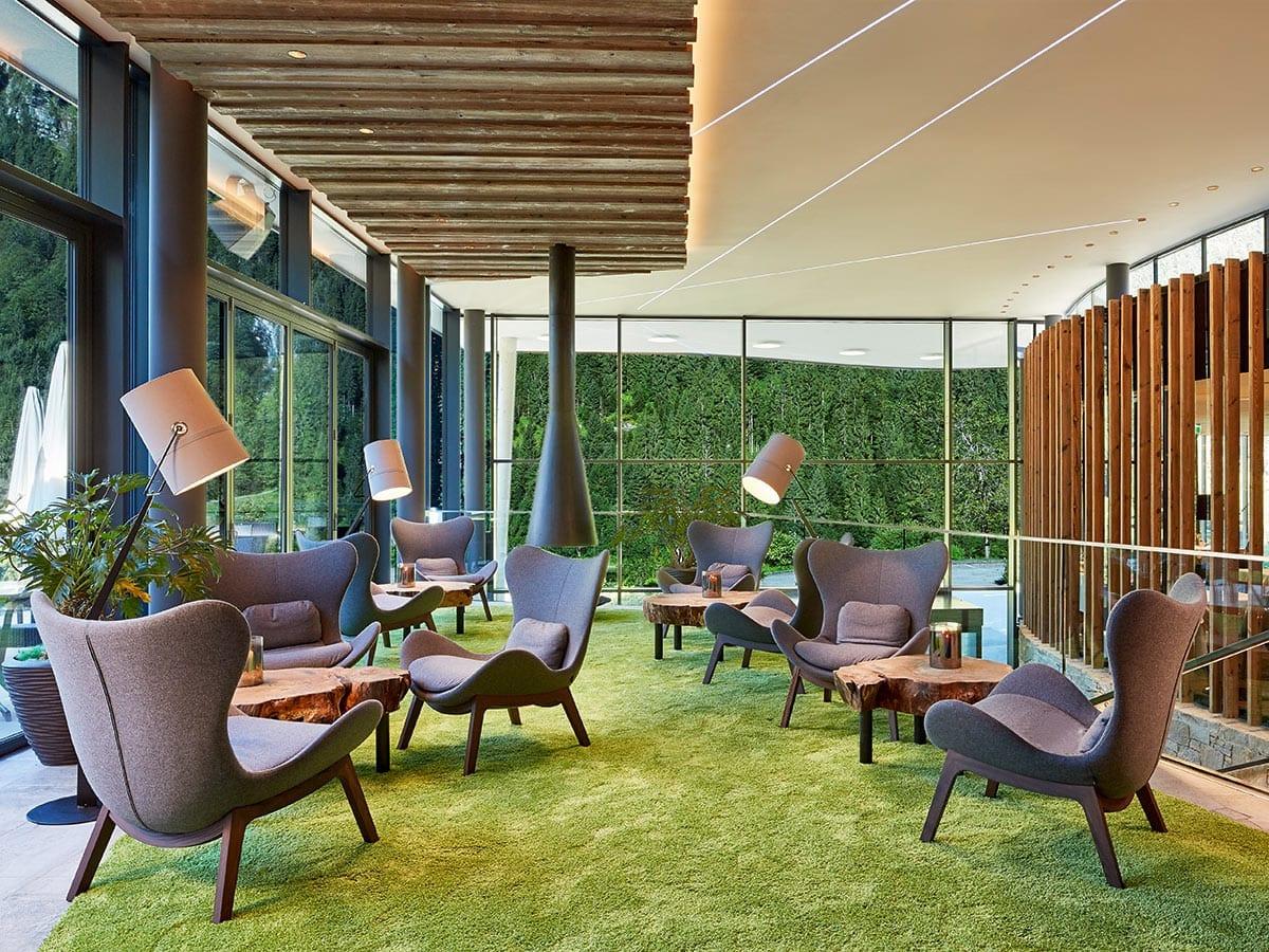 Lounge im Lürzerhof Alpin Life Resort