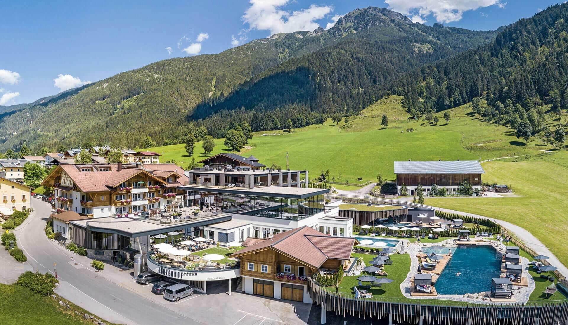Luerzerhof Alpin Life Resort Umbau 2020