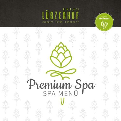 Lürzerhof - Spa Menü