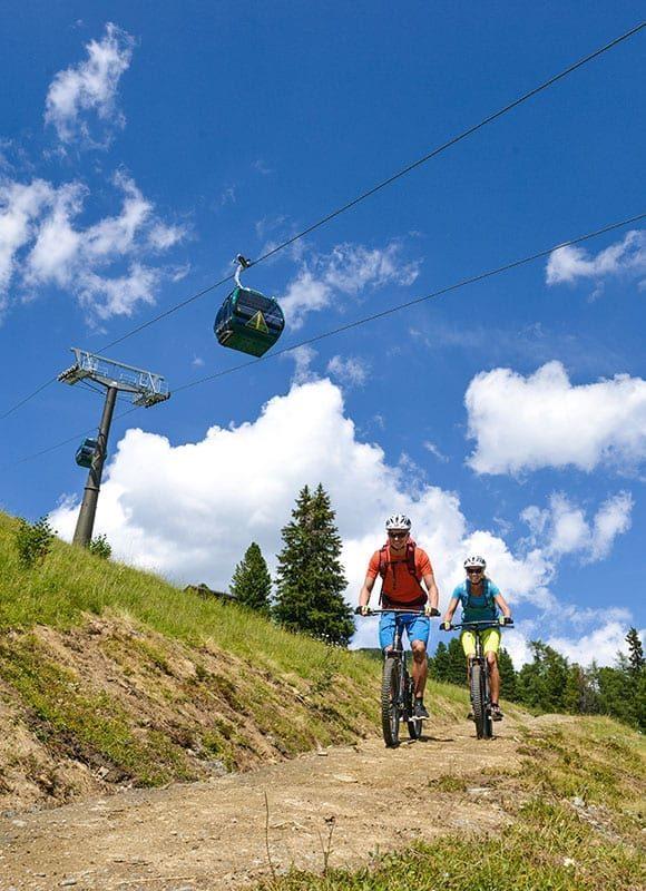 Mountainbike E Bike Obertauern 1
