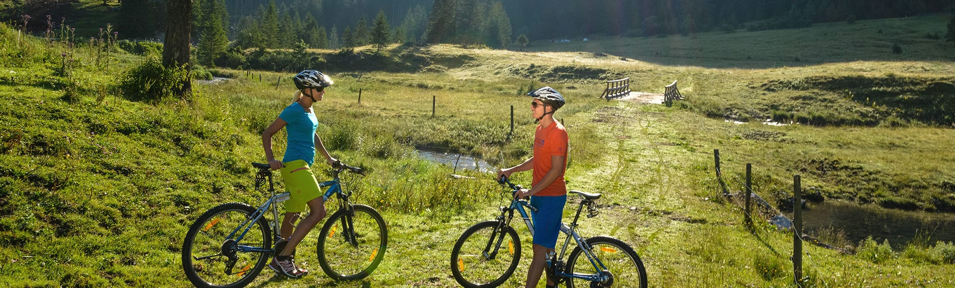 Mountainbike in Obertauern