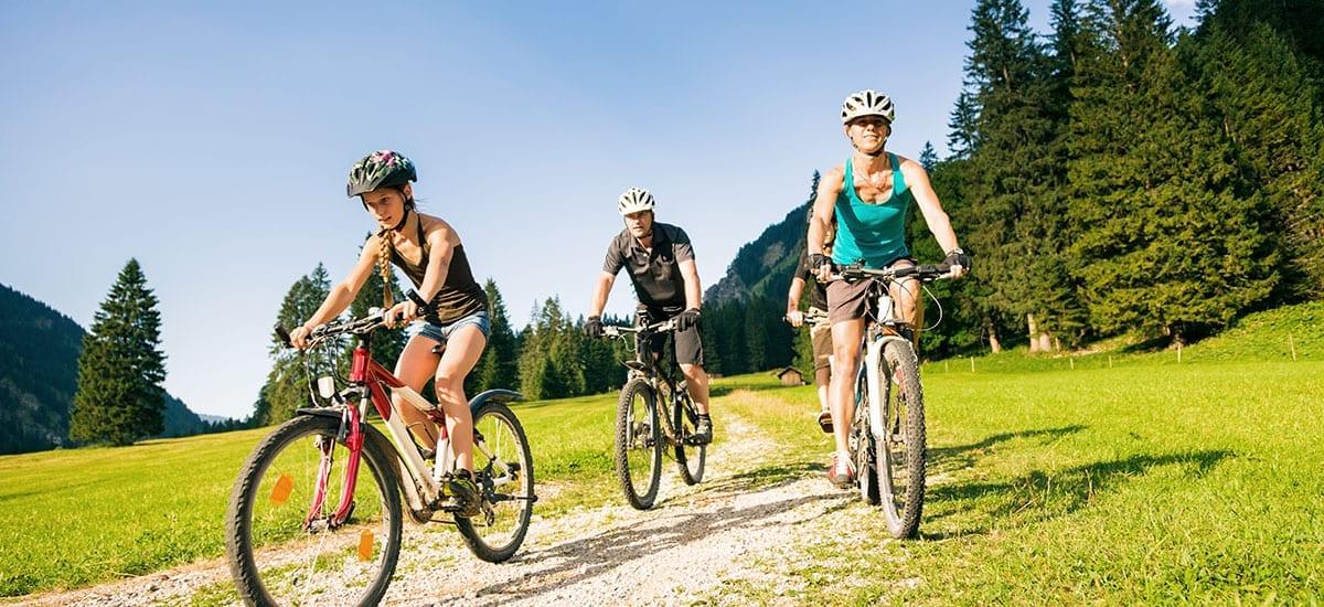 Radfahren, Verleih - Familien-Sommerurlaub