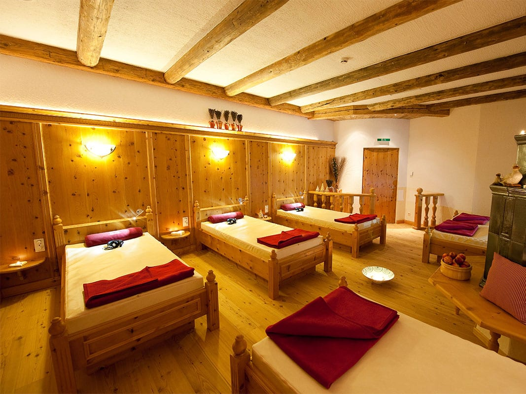 Raum der Stille - Event-Sauna