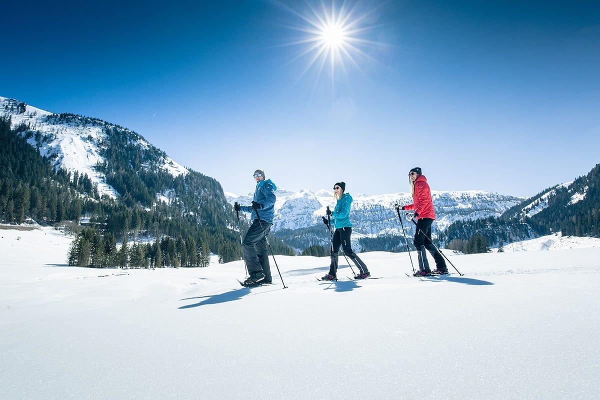 Schneeschuhwandern - Freizeitmöglichkeit in Obertauern