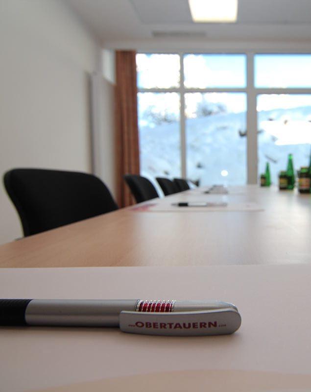 Seminarraum im Tagungshotel in Österreich