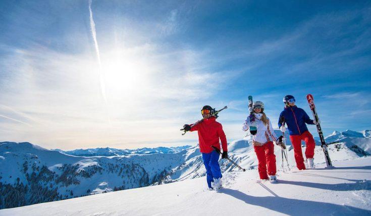 Skifahren im Skiverbund Ski amadé