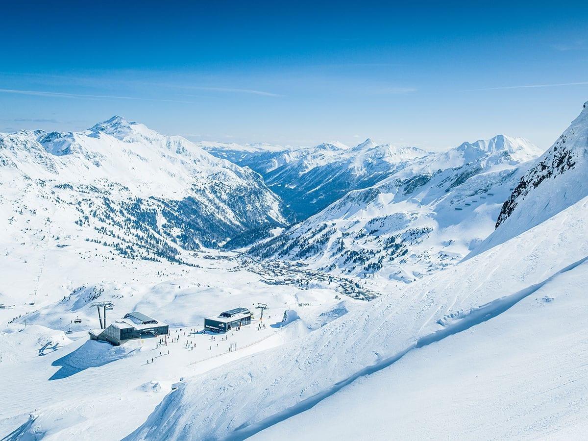 Skifahren, Skigebiet Obertauern