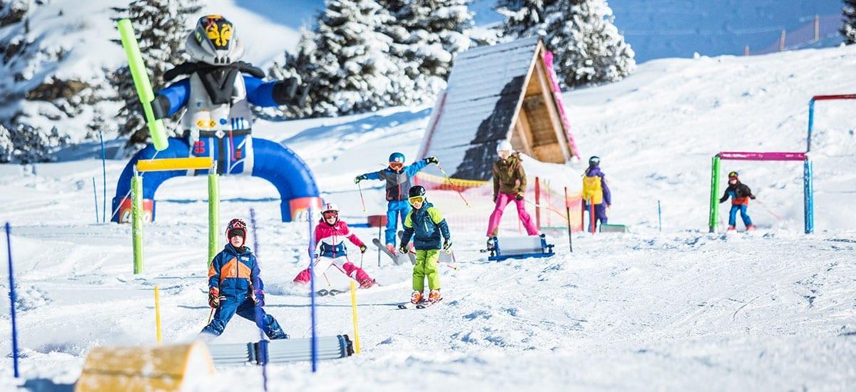 Skiurlaub mi Kindern in Obertauern
