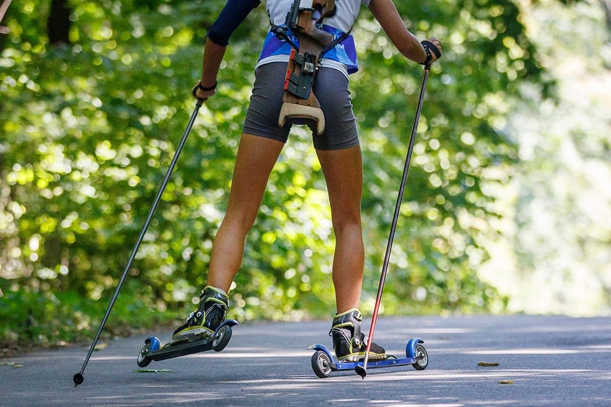 Sommer-Biathlon - Freizeitmöglichkeit in Obertauern