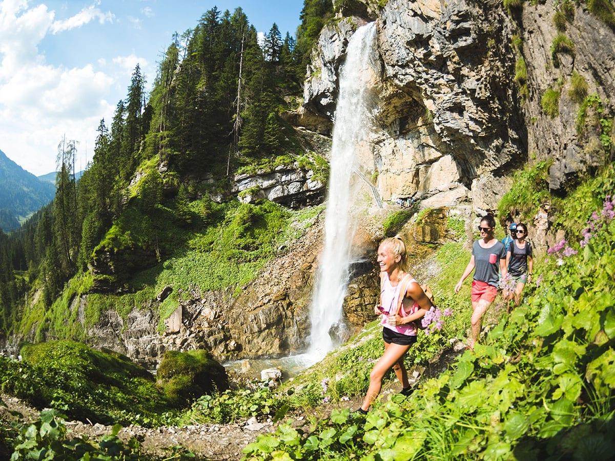Wandern im Sommerurlaub