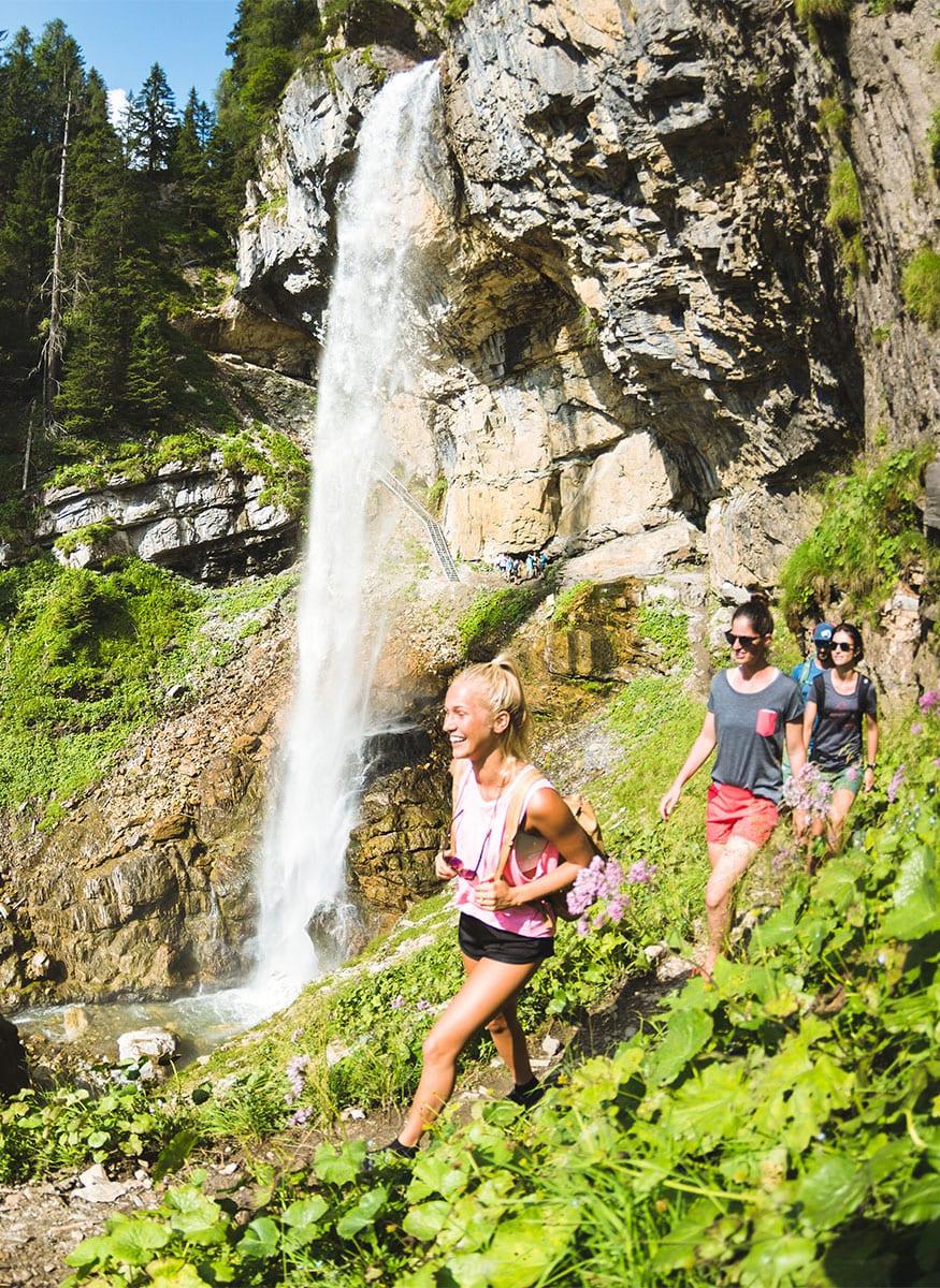 Johanneswasserfall - Sommerurlaub in Obertauern