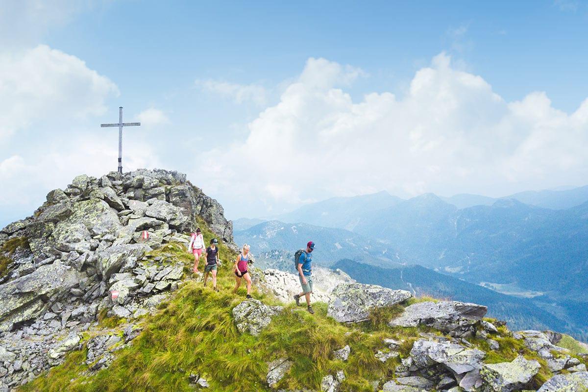 Wandern - Freizeitmöglichkeit in Obertauern