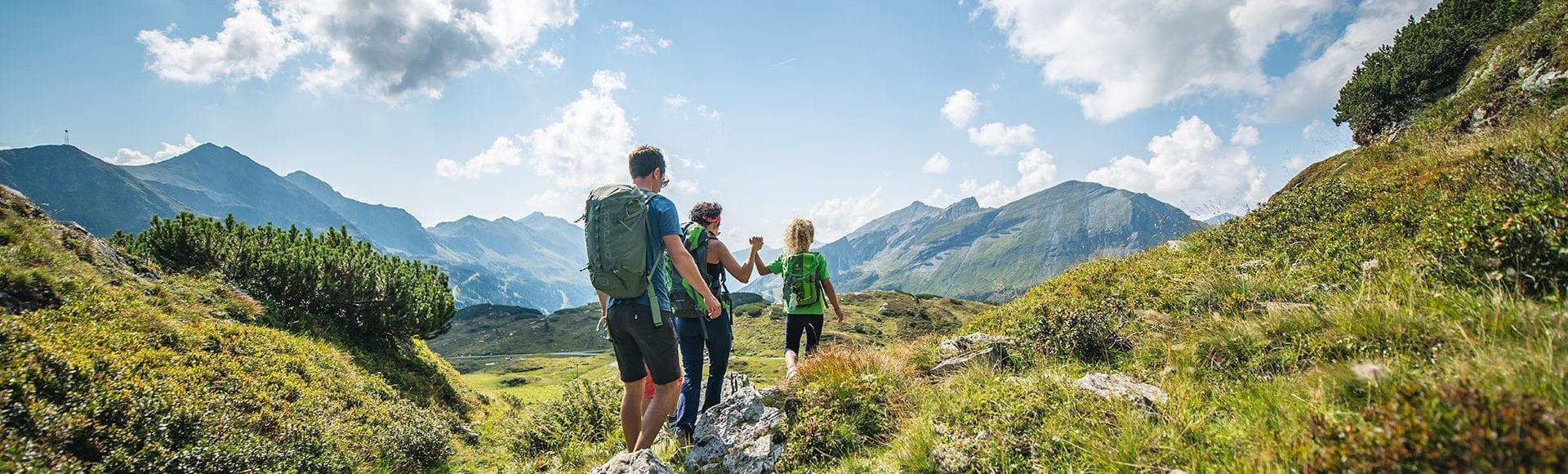 Wandern in Obertauern, Sommerurlaub in Österreich