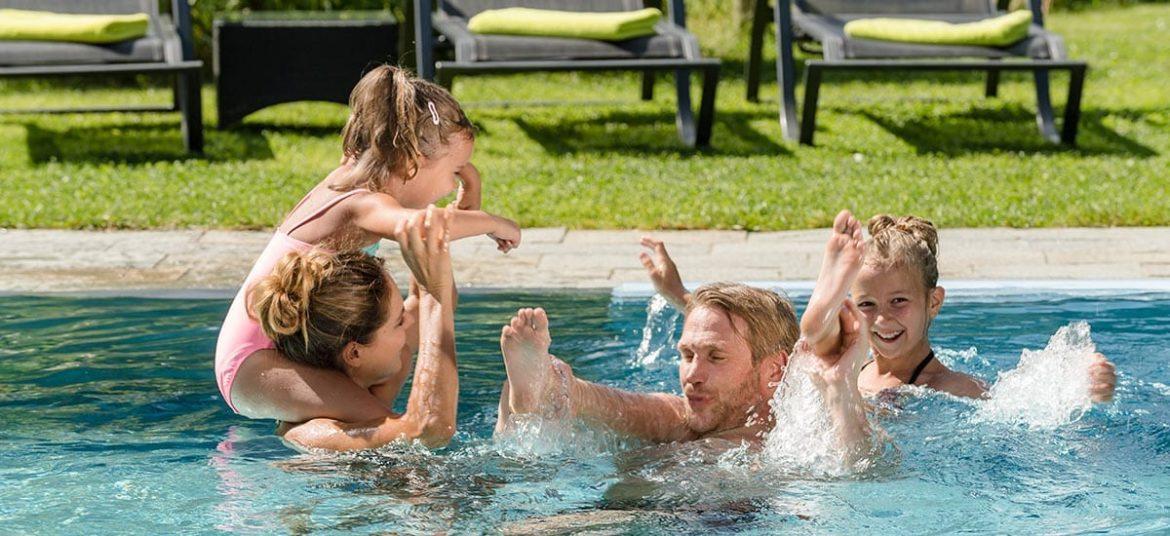 Wellness mit Baby & Kindern