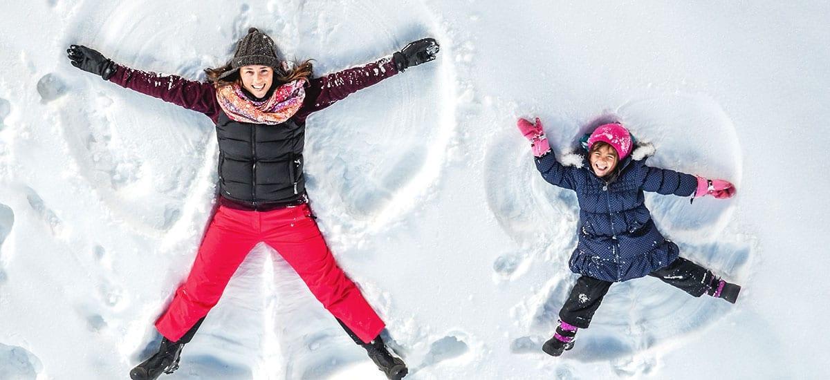 Spaß im Schnee - Familienwinterurlaub